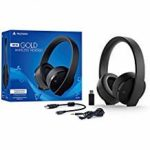 Sony PlayStation Gold Wireless Headset 7.1 Surround Sound PS4 New Version 2018