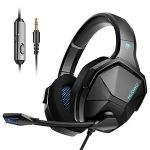 Jeecoo N13 Gaming Headset for PS4 Xbox One PC, Bass Encompass Headphones with Noise Cancelling Microphone, Extremely Breathable Ear Cups for Computers Cellular and Extra
