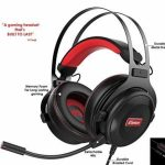Gaming Headset with Microphone   Top rate 3D HD Stereo Sound Video Gaming Wired Headphones for PS4 Console, Xbox One, Swap, PC, Pc   3.5mm Audio   Ps4 Accessories by HC Gamer Existence