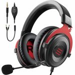 EKSA E900 Stereo Gaming Headset-Xbox one Headset Wired Gaming Headphones with Noise Canceling Mic, Over Ear Headphones Like minded with PS4, Xbox One, Nintendo Switch,