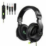 Supsoo Gaming Headset for PS4/Xbox one/PC Noise Cancelling Headphones Encompass Sound & Quantity Control – G822