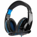 Gaming Headset for Xbox One,PS4, Nintendo Switch, PC, Mac, Pc, Over Ear Headphones PS4 Headset Xbox One Headset with Encompass Sound& Noise Canceling Microphone