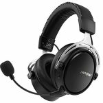 Mpow Air I Wireless Gaming Headset – PS4 Headset with Double Chamber Drivers, Detachable Noise Cancelling Microphone, Memory Foam Gaming Headphones