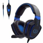 Gaming Headset with Microphone for Xbox One PC PS4 – PC Gaming Headphones with Mic, AH28 Wired Over Ear Gaming Headphone for PC MAC Computer Computer personal computer Playstation4,