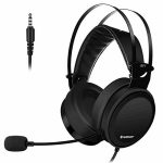 Gaming Headset for PS4 PC Xbox One, Deep Bass Sound Over-Ear Headphones with Noise Cancelling Microphone, Gigantic Soft Earcups (Gaming Headset Shaded)