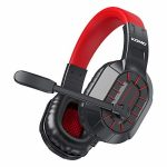 BENGOO M202 Gaming Headset Headphones for Xbox One PS4 PC, Stereo Surround Sound Over Ear Headset with Noise Cancelling Mic, Refined Memory Earmuffs for Pc,
