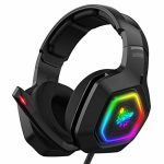 RGB LED Gaming Headset PS4 Headset Gamer Headset for Xbox one Headset Gaming Headphone with Encompass Sound Noise Canceling Microphone