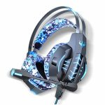 OVLENG 7.1 Encompass Stereo Sound USB Computer Gaming Headset with Microphone,Over-The-Ear Noise Keeping apart,Breathing LED Gentle for PC /PS4 Avid gamers