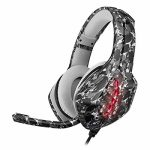 LZ All-Platform Gaming Headset Surround Sound Headphones Headscarf Adjustable 120° Microphone 3D Surrounded Stereo Sound Noise Cancelling for PS4 Xbox One PC,Cowl Yellow