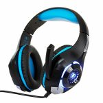 Teaboy Gaming Headset with Noise Canceling mic, Over Ear Headset for PS4 Xbox One with Crystal 3D Gaming Sound, Memory Foam Earpad Smartly matched with PS4,