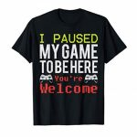 Video Games Shirt For Avid gamers | TShirt For Males, Boys, Young of us. T-Shirt
