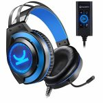 VANKYO Gaming Headset CM7000 with Official 7.1 Encompass Sound Stereo PS4 Headset, Gaming Headphones with Noise Canceling Mic & Memory Foam Ear Pads for PC, PS4,