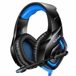 RUNMUS Gaming Headset PS4 Headset with 7.1 Encompass Sound, Xbox One Headset with Noise Canceling Mic & RGB Gentle, Acceptable w/ PS4, Xbox One(Adapter Now…