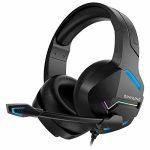 BINNUNE Gaming Headset with Microphone for PS4 PS5 Xbox One PC Playstation4 Xbox 1 Sport Audifonos Gamer Headphones with Mic