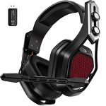 Wi-fi Gaming headset for PS5 PS4 Xbox one PC