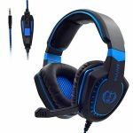 Stereo Gaming Headset for PS4,PC Wired Gaming Headphone with Mic for Pc programs, Ps4, Xbox One,Pc, Smartphone, Tablet