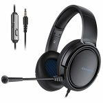 BINNUNE Gaming Headset for PS4 PS5 PC Xbox One Ps4 Xbox 1 Game Headset with Microphone Audifonos Gamer Headphones with Mic