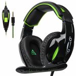 SADES G813 Multi-Platform Ps4Gaming Headset with Mic 3.5MM Jack in-LINE Quantity Purchase watch over Over-Ear Headphones for Unusual PC/PS4/XboxOne/Smartphones