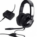 Amazon Basics Gaming Headset for PC and Consoles (Xbox, PS4) with Desktop Mixer – Murky